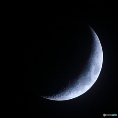 月齢5.1 夕月