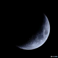 月齢5.4 宵月