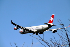 SwissAirLines-A330着陸態勢
