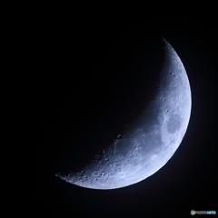 月齢4.9 夕月