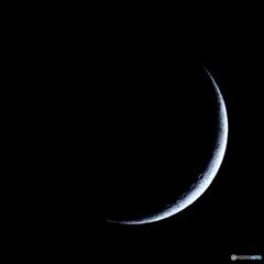 月齢2.6 夕月