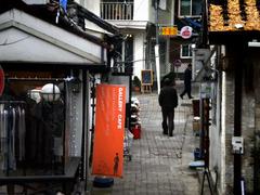 ソウルの裏路地