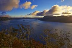 朝の摩周湖1
