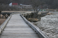 榛名 冬の遊歩道