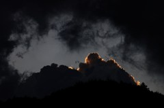 雲のフレーム