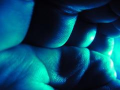 青の洞窟のかべ