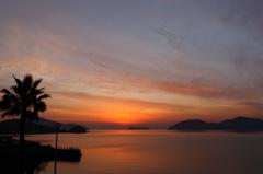 笠戸島の夕景