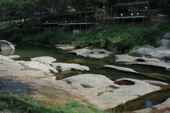 広島県天然記念物 蛇喰磐
