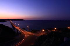 角島の夜景