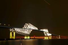 光跡とゲートブリッジ その2
