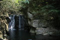 二鹿川 梅津の滝
