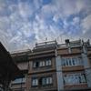 ネパール カトマンドゥ 見上げた空。