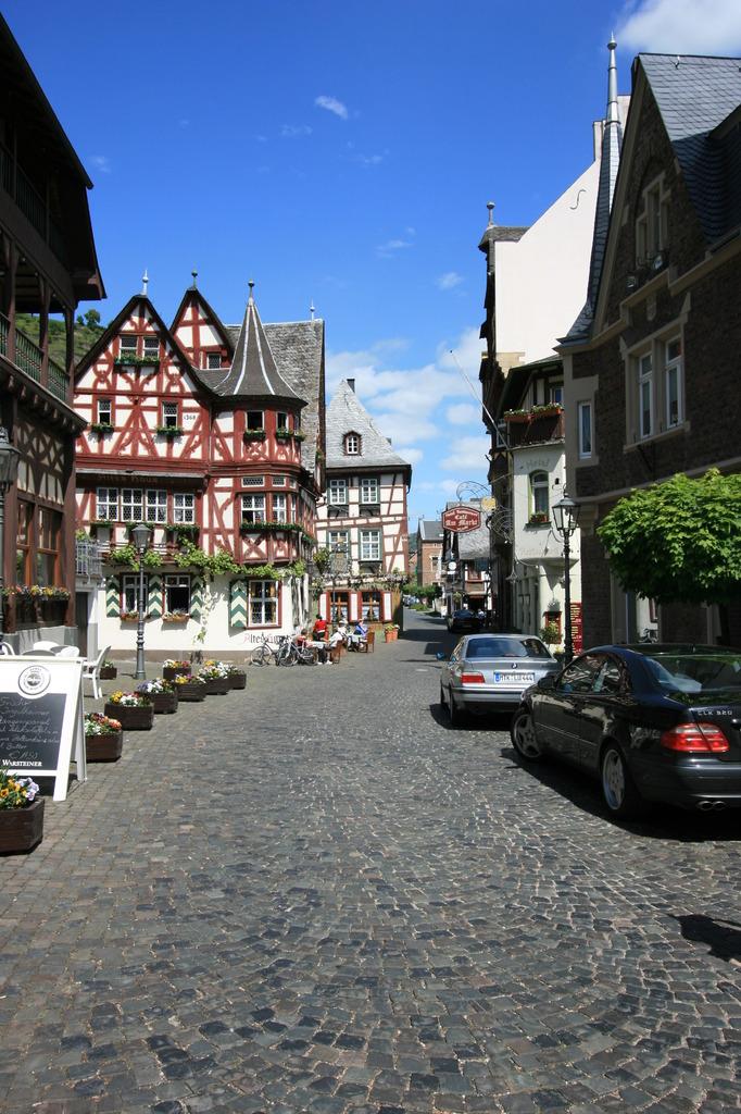 バッハラッハ(ドイツ)の町並み