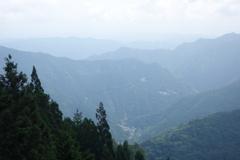 三峰神社 遙拝殿からの眺め 2