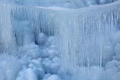 尾ノ内百景の氷柱 2