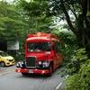 軽井沢の赤バス