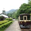 間藤駅にて わたらせ渓谷鉄道