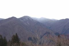 三峰神社の空