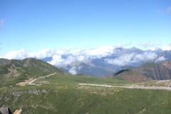 魔王岳から臨む 乗鞍スカイライン