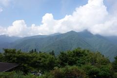 三峰神社 夏空