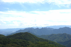 軽井沢見晴台からの眺め