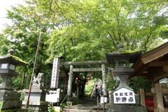 軽井沢熊野神社 1