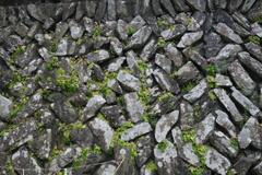三峰神社 石垣