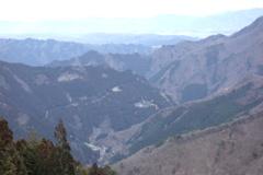 三峰神社 遙拝殿からの眺め ②