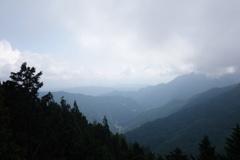 三峰神社 遙拝殿からの眺め