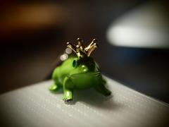 カエルの王様。