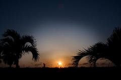 Sunsetの手前