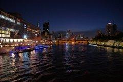 水都大阪の夜