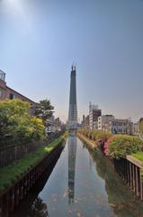 Reverted Image Of Tokyo Sky Tree