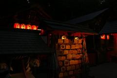 野宮神社の夜