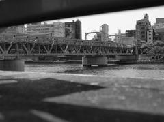 隅田川 東武伊勢崎線鉄橋