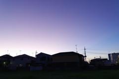 夜明けのマジックタイム