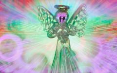 ウキウキする 天使