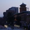 夕暮れの神奈川県庁