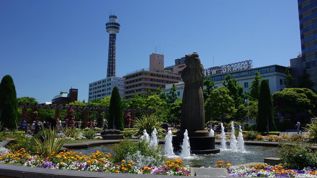初夏の横浜 山下公園