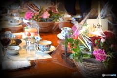 米寿のお祝いの席