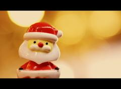 サンタさんが来てくれました♪