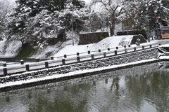 4月11日の雪景色