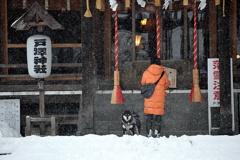 今朝の戸澤神社