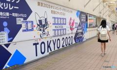 オリンピックの看板