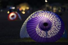 ほんのり和傘