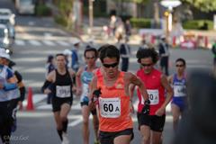 江東シーサイドマラソンにて