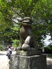 004 御霊神社 狛犬