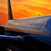 唯一の飛行機の写真。