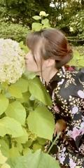 紫陽花への接吻