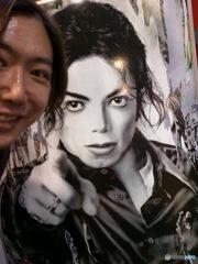 Hideo Ishihara With Michael Jackson